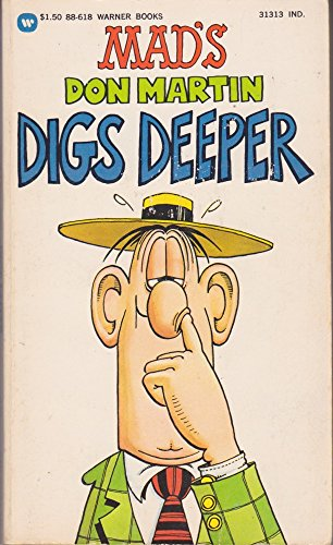 9780446886185: Mad's Don Martin Digs Deeper (Mad #10)