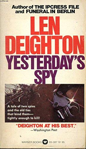9780446890878: Yesterday's Spy