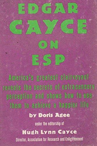 E Cayce on E S: Male: Agee, Doris