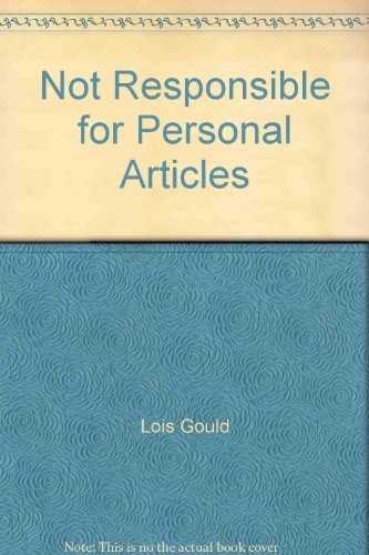 9780446920254: Not Responsible for Personal Articles