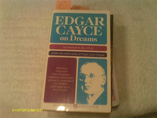 9780446926874: Edgar Cayce On Dreams