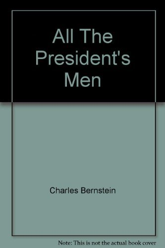 9780446936842: All The President's Men