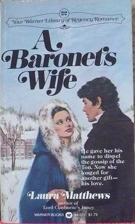 9780446945714: A Baronet's Wife