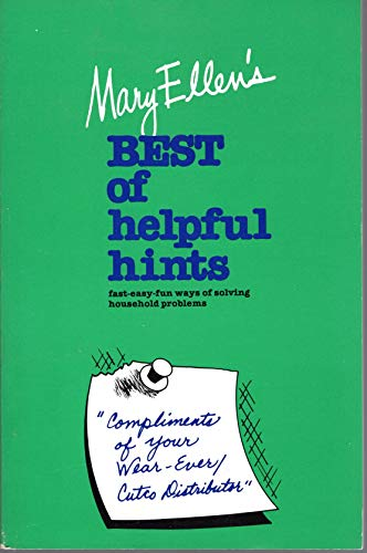 9780446970853: Mary Ellen's Best of Helpful Hints