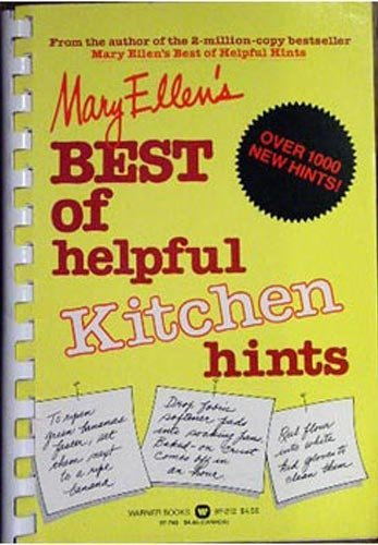 Mary Ellen's Best of Helpful Kitchen Hints: Pinkham, Mary Ellen