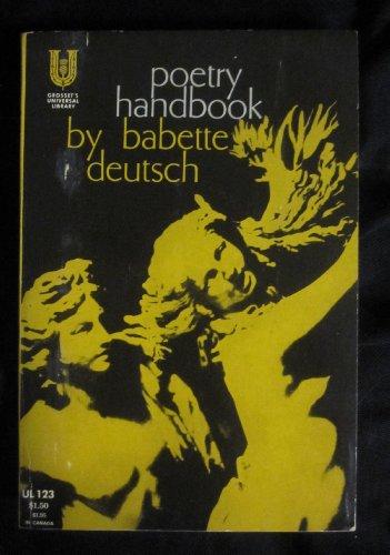 9780448001234: Poetry Handbook