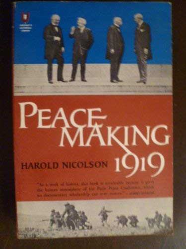 9780448001784: Peacemaking 1919 (The Universal library, UL-178)