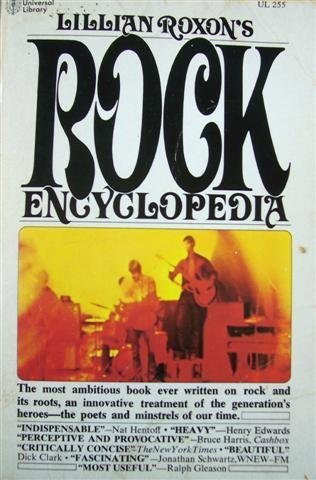 9780448002552: Lillian Roxon's Rock Encyclopedia (The Universal library, 0255)