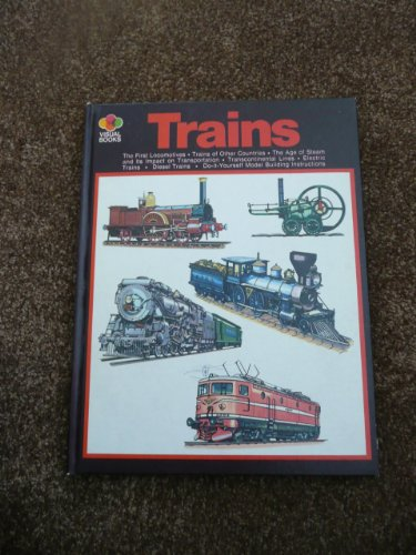 9780448007267: Trains (Visual books)
