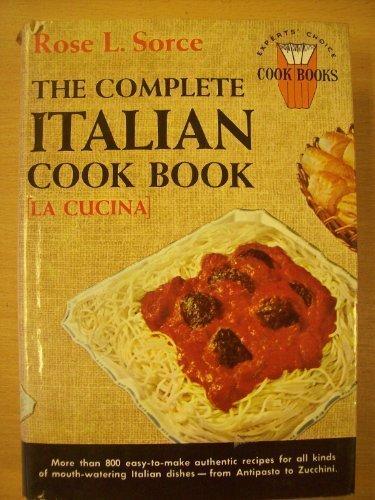 9780448013640: Complete Italian Cook Book