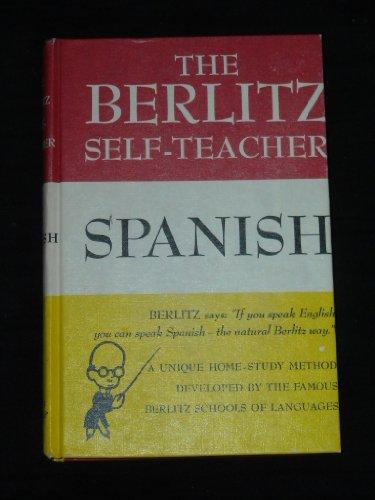9780448014272: Berlitz Self Teacher Spanish