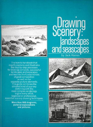 Drawing Scenery: Landscapes and Seascapes (0448015080) by Jack Hamm