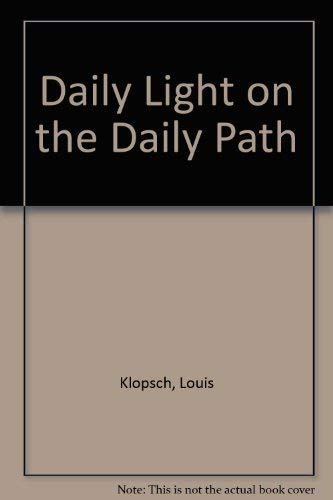9780448016382: Daily Light On The Daily Path
