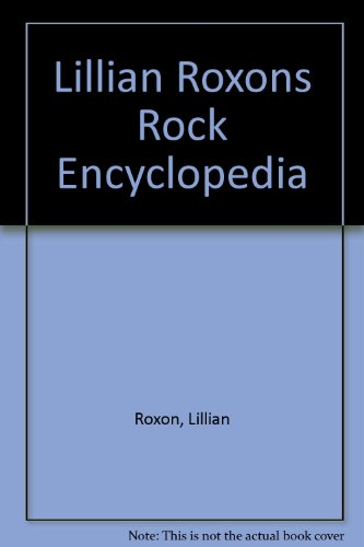 9780448017570: Lillian Roxons Rock Encyclopedia