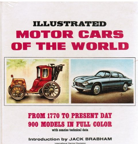 9780448025872: Illustrated motor cars of the world