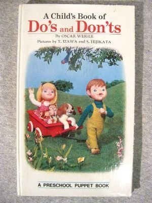9780448026848: A Child's Book of Do's and Don'ts