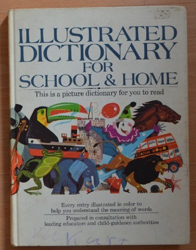 Illustrated dictionary for school & home: nockels, david