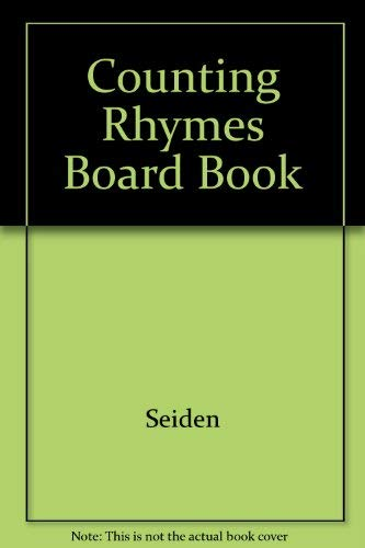 9780448030784: Counting Rhymes Board Book