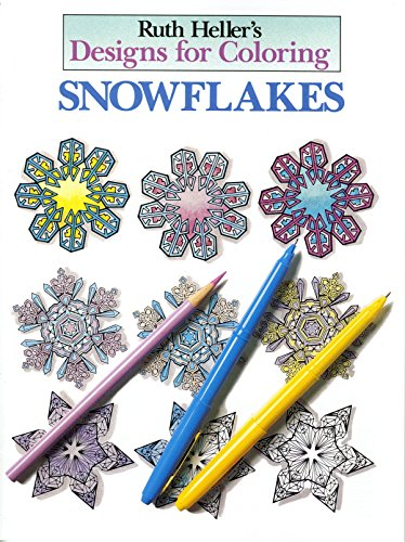 9780448031453: Ruth Heller's Designs for Coloring: Snowflakes