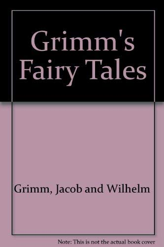 9780448032467: Grimm's Fairy Tales