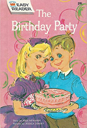 The Birthday Party (Wonder Books Easy Readers): Paul Newman