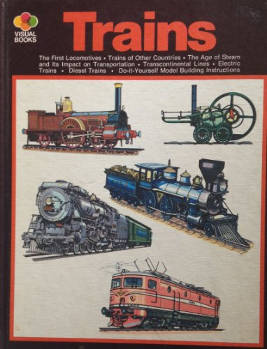 9780448035345: Trains (Visual books)