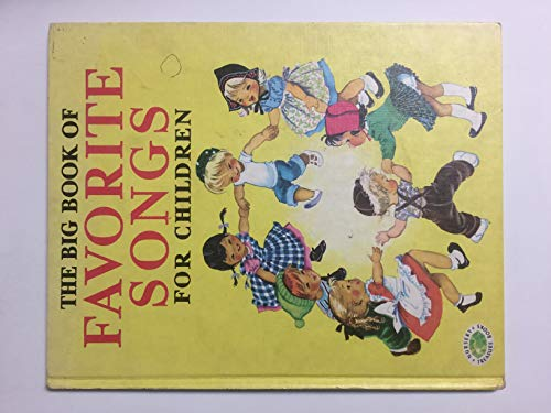 9780448036618: the Big Book of Favorite Songs for Children