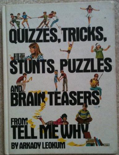 9780448039053: Quizzes Tricks Stunts Puzzles