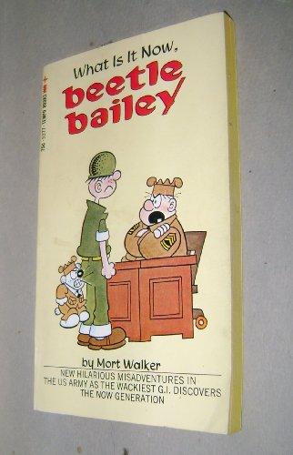 9780448053776: Beetle Bailey What Is It Now, Beetle Bailey