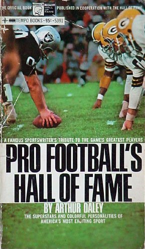 9780448053912: Pro Football's Hall of Fame