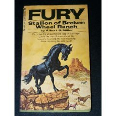 9780448054193: Fury: Stallion of Broken Wheel Ranch