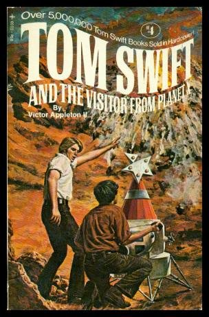 9780448055596: Tom Swift and the Visitor from Planet X