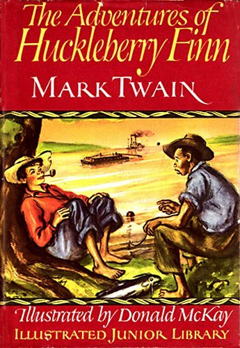 9780448060002: The Adventures of Huckleberry Finn (Illustrated Junior Library)