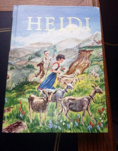 9780448060125: Heidi (Illustrated Junior Library)