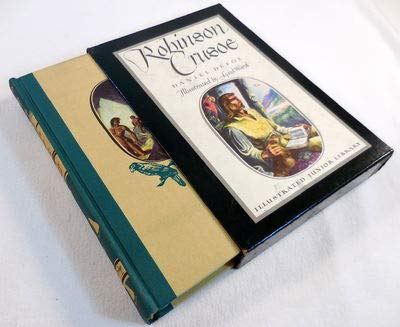 9780448060217: Robinson Crusoe Dlx (Illustrated Junior Library)