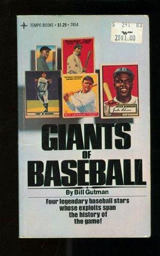 9780448074542: Giants of baseball