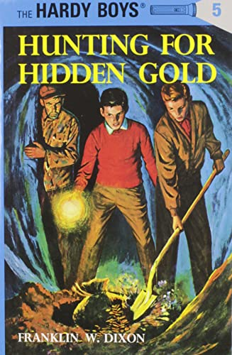 9780448089058: Hunting for Hidden Gold (The Hardy Boys, No. 5)