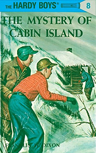 9780448089089: The Mystery of Cabin Island (Hardy Boys, Book 8)