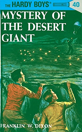 9780448089409: The Mystery of the Desert Giant (Hardy Boys, Book 40)