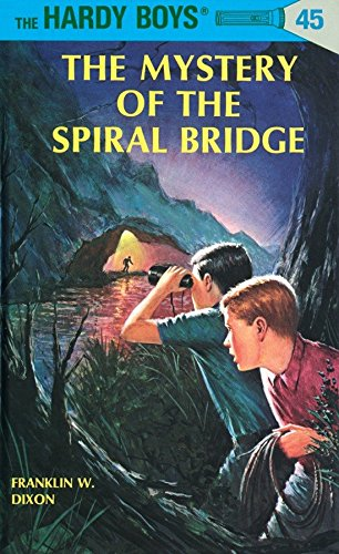 9780448089454: The Mystery of the Spiral Bridge (Hardy Boys, Book 45)