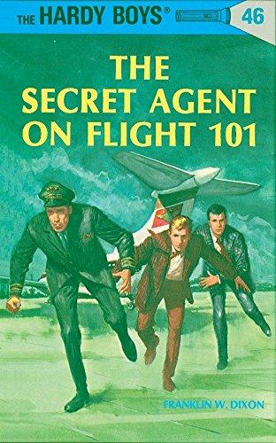 9780448089461: The Secret Agent on Flight 101 (The Hardy Boys, No. 46)