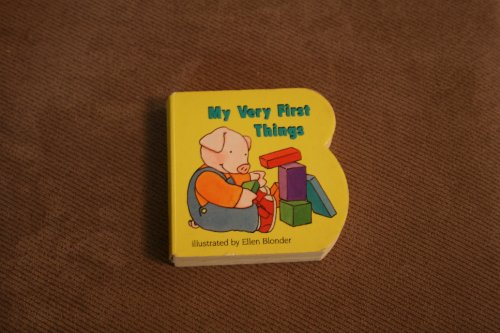 9780448092539: My Very First Things (Wee Pudgy Books)
