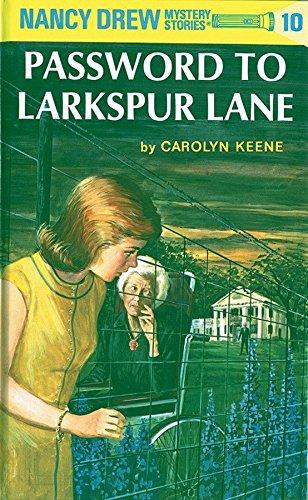 9780448095103: Nancy Drew 10: Password to Larkspur Lane