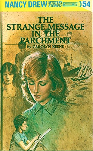 9780448095547: Nancy Drew 54: The Strange Message in the Parchment