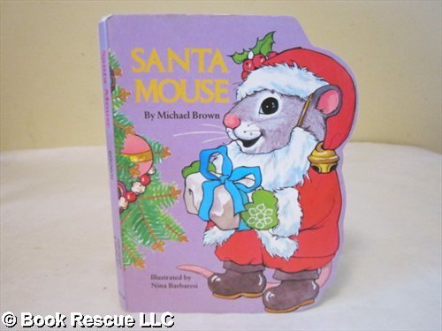 9780448102153: Santa Mouse (A Pudgy Pal Board Book)