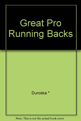 9780448115016: Great Pro Running Backs