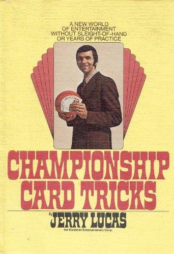 9780448115375: Championship Card Tricks.