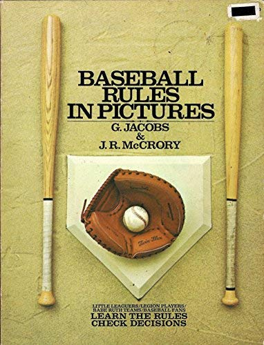 9780448115559: Baseball rules in pictures