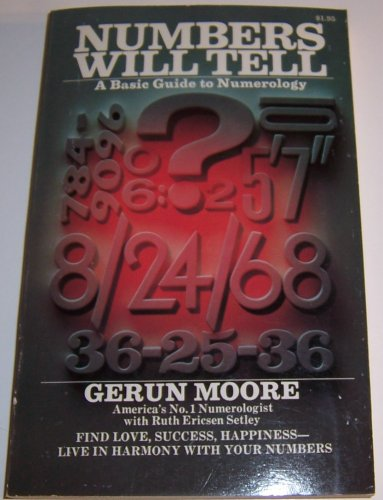 9780448115740: NUMBERS WILL TELL - A Basic Guide to Numerology