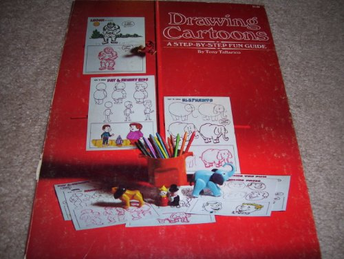 9780448119595: Drawing cartoons: A step-by-step fun guide